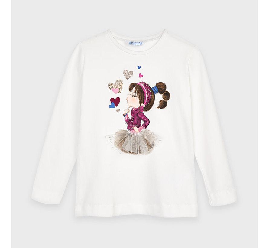 4070 l/s t-shirt