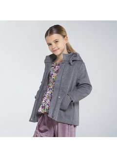 Mayoral 7408 coat with hood