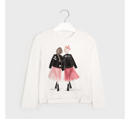Mayoral 7065 L/s girl t-shirt