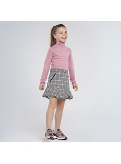 Mayoral 7947 houndstooth check skirt