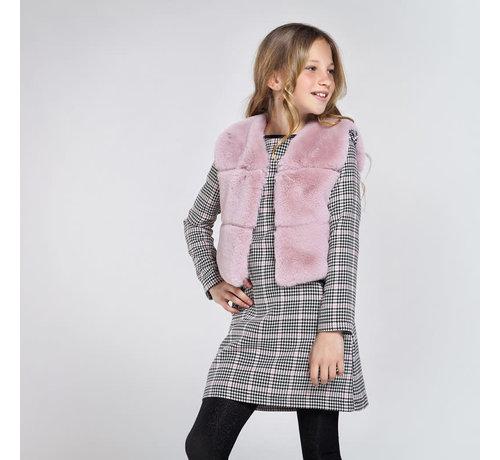 Mayoral 7336 fur vest