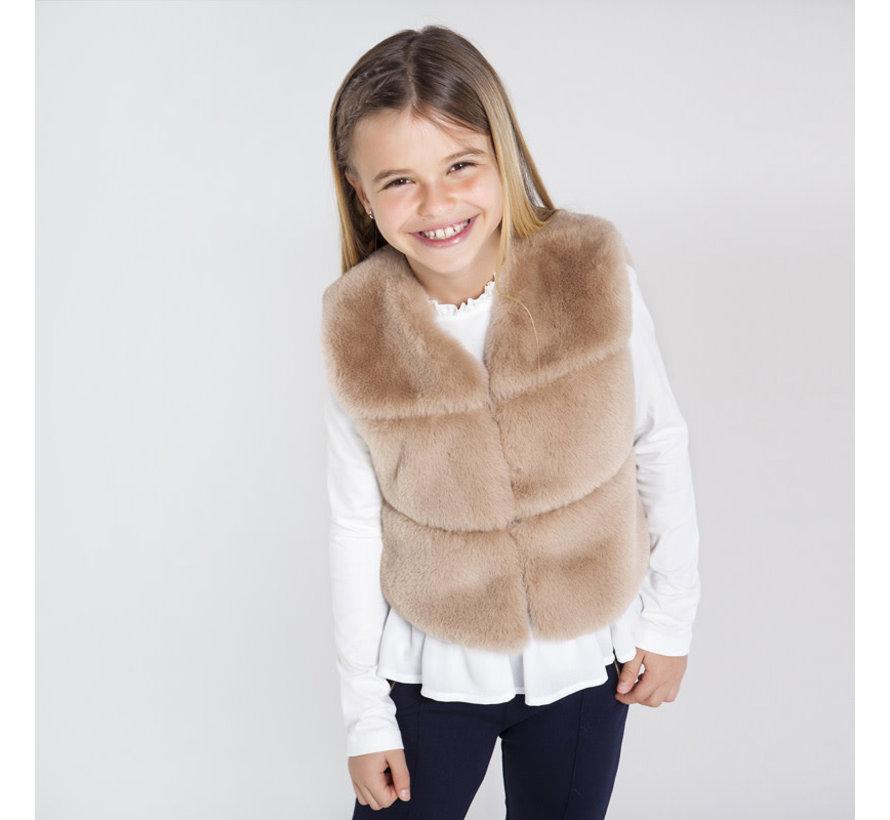 7336 fur vest