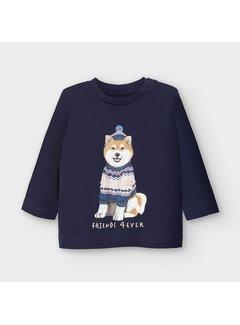 Mayoral 2050 L/s tshirt shiba