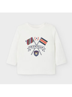 "Mayoral 2049 L/s t shirt ""friendship"""