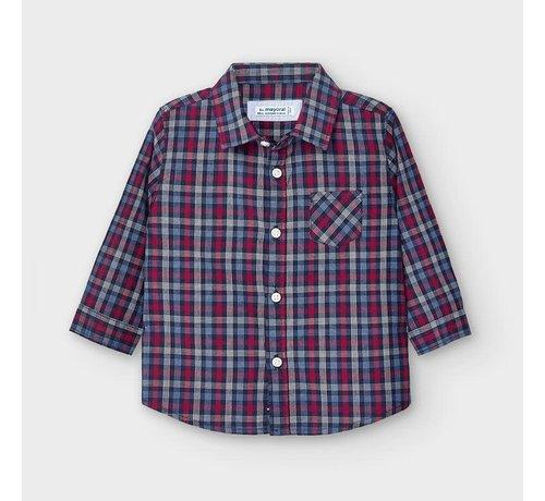 Mayoral 2130 L/s poplin shirt