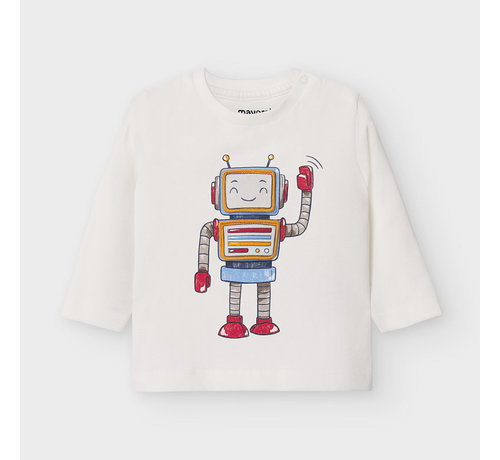 """Mayoral 2040 L/s tshirt """"play with"""""""