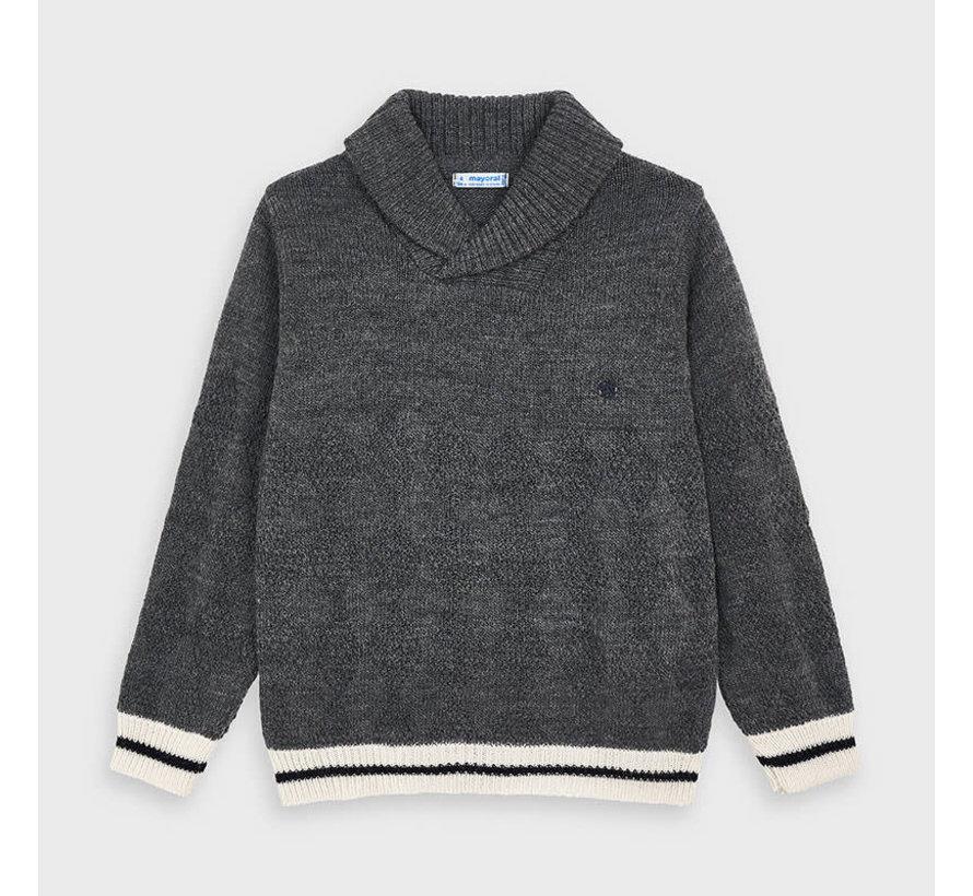 4331 smoking neck sweater