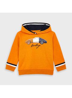 Mayoral 4461 printed pullover with hoodie