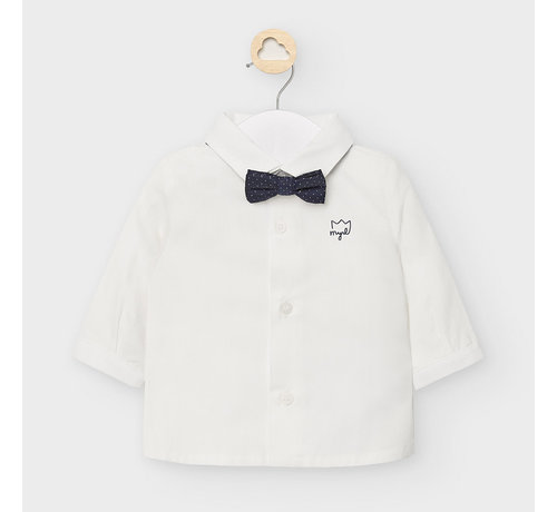 Mayoral 2119 l/s shirt and bowtie