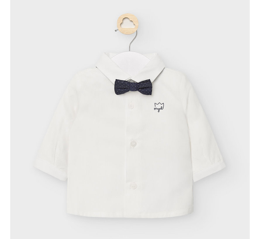 2119 l/s shirt and bowtie