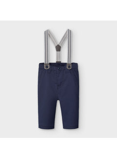 Mayoral 2565 long trousers with suspenders