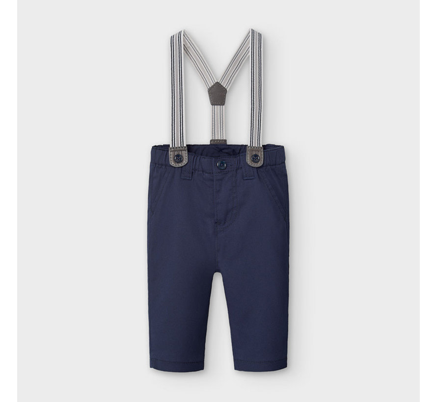 2565 long trousers with suspenders
