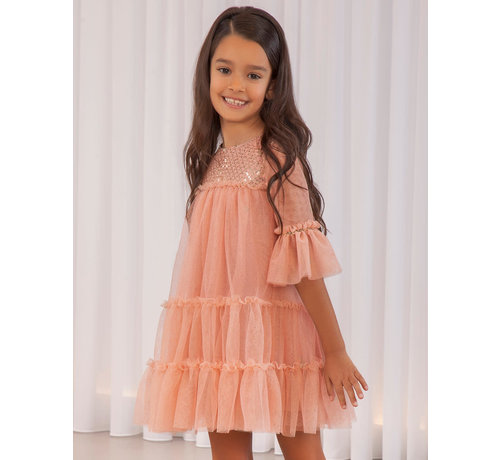 Abel en Lula 5563 tul glitter dress
