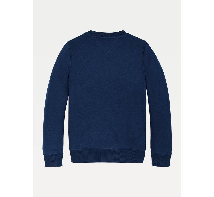 KB05805 multi badge velcro sweatshirt