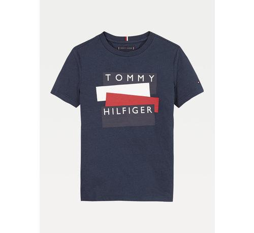 Tommy hilfiger pre KB05849 tommy hilfiger sticker tee