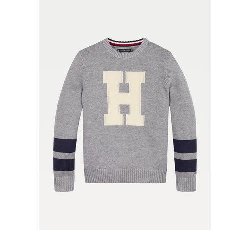 Tommy Hilfiger KB06072 letter sweater