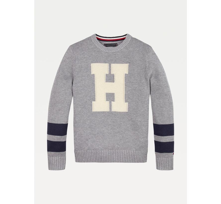 KB06072 letter sweater