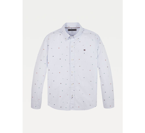 Tommy Hilfiger KB06161 tommy aop shirt L/S