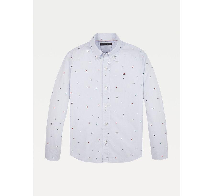 KB06161 tommy aop shirt L/S