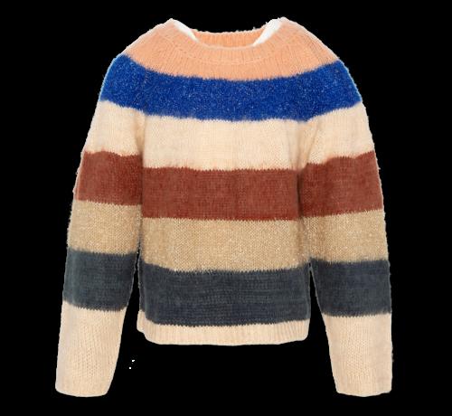 Ao76 220-1312 c-neck multicolour stripe
