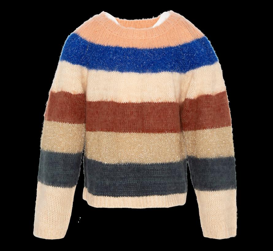 220-1312 c-neck multicolour stripe