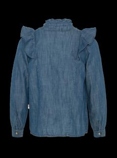 Ao76 220-1406 ruby denim shirt