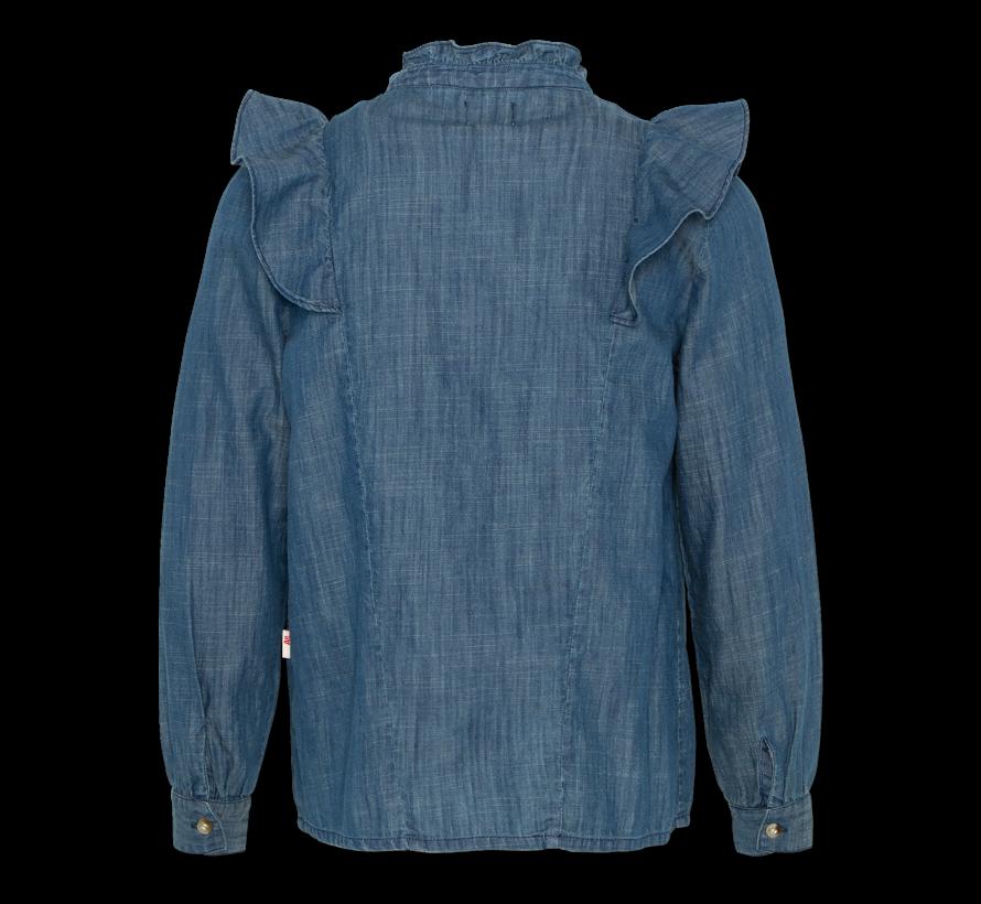 220-1406 ruby denim shirt