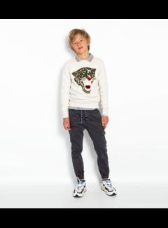 Ao76 220-2200-01 c-neck sweater leopard