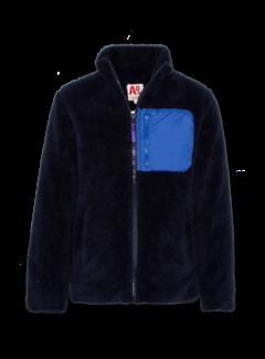 Ao76 220-2262 mock neck full zip fur
