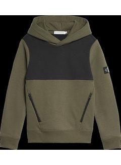 Calvin Klein B00632 colour block hoodie