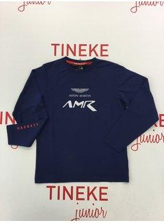 HACKETT HK500683 amr logo tee ls