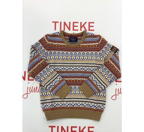 HACKETT HK700747 fairlisle wl mx knitwear