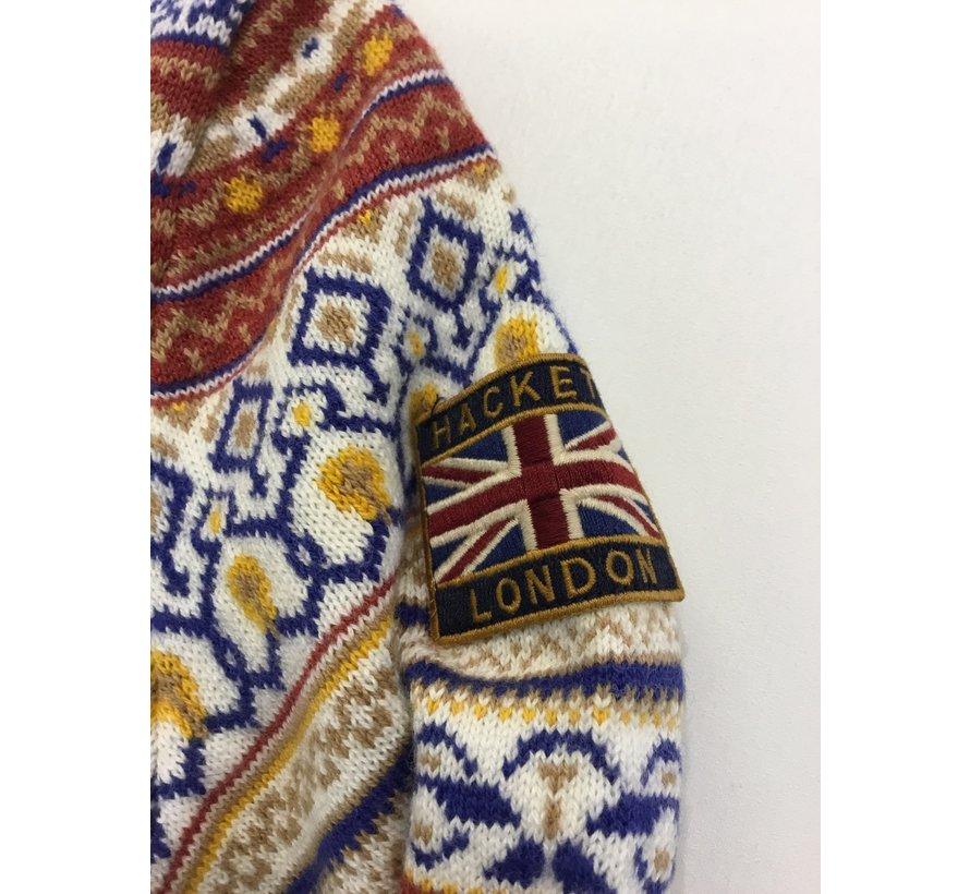 HK700747 fairlisle wl mx knitwear