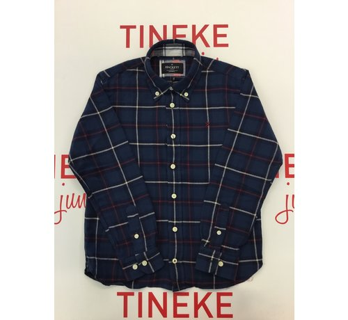 HACKETT HK301578 flannel plaid shirt