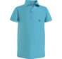 IB00733 monogram chest fitted polo