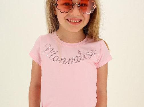 Monnalisa T-shirt logo basic