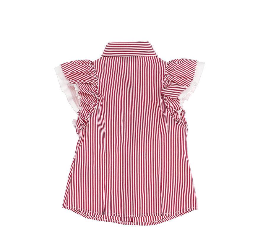 Camicia frou frou