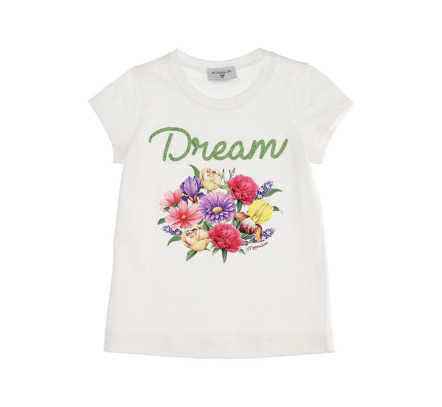 T-shirt C/bouquet
