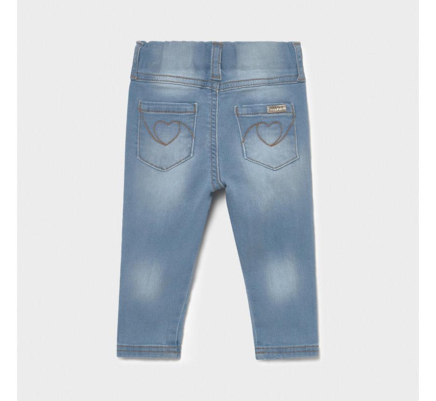 535 basic denim pants
