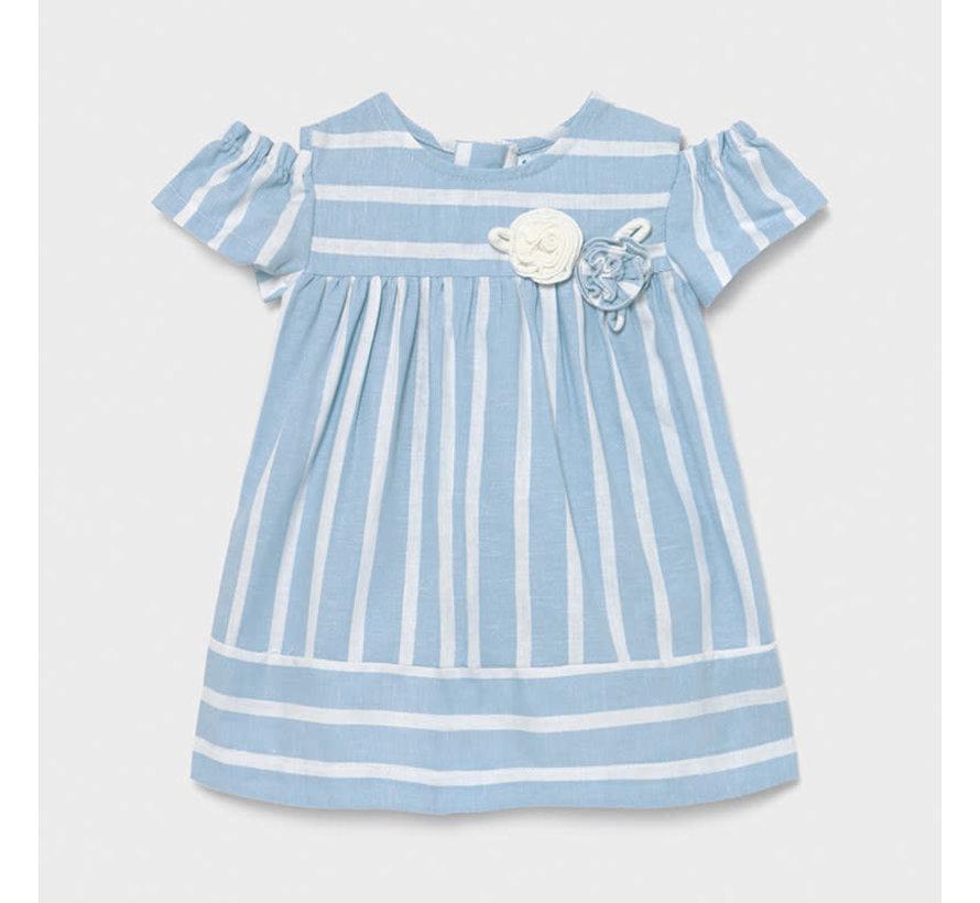 1980 stripes dress