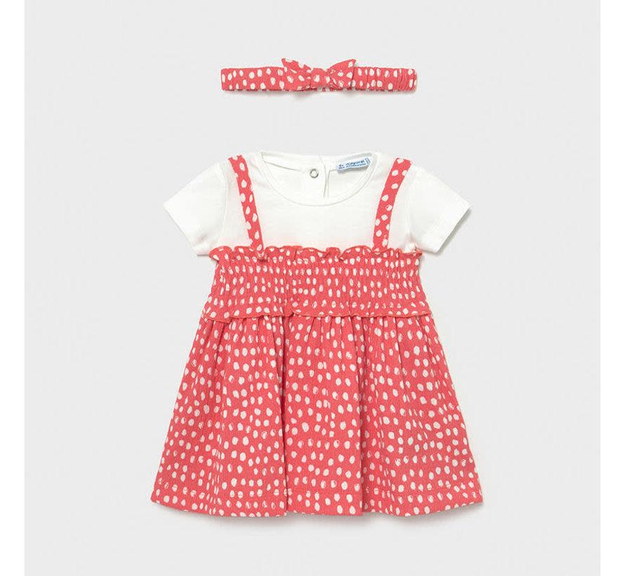 1985 mixed dress polka dots