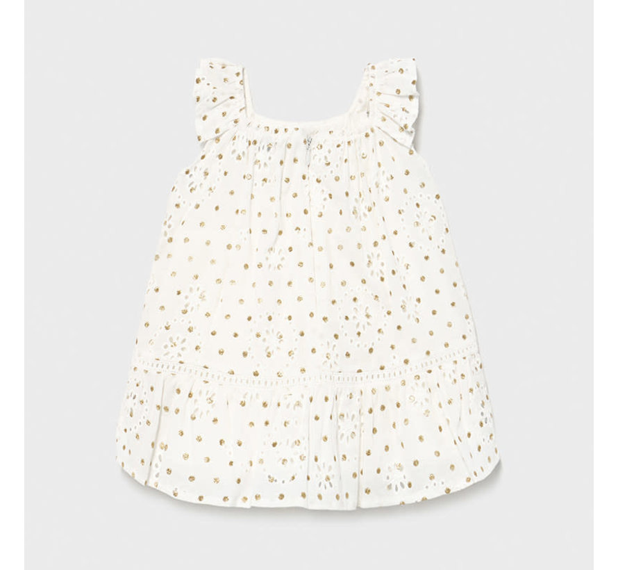 1979 perforated dress