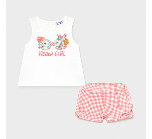 Mayoral 1231 shorts set