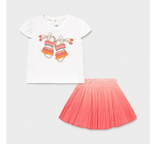 Mayoral 1996 skirt set