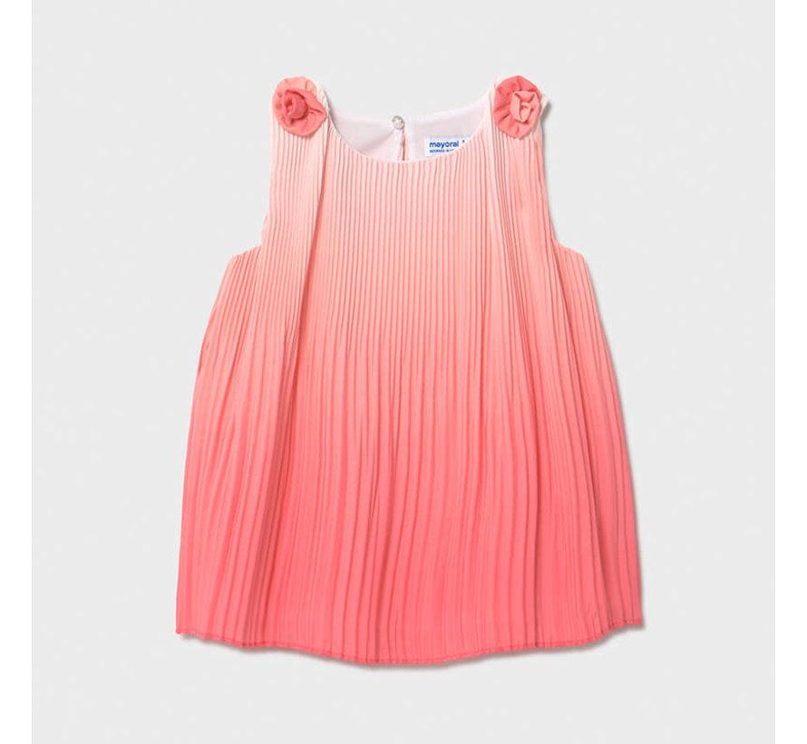 1986 pleadted dress
