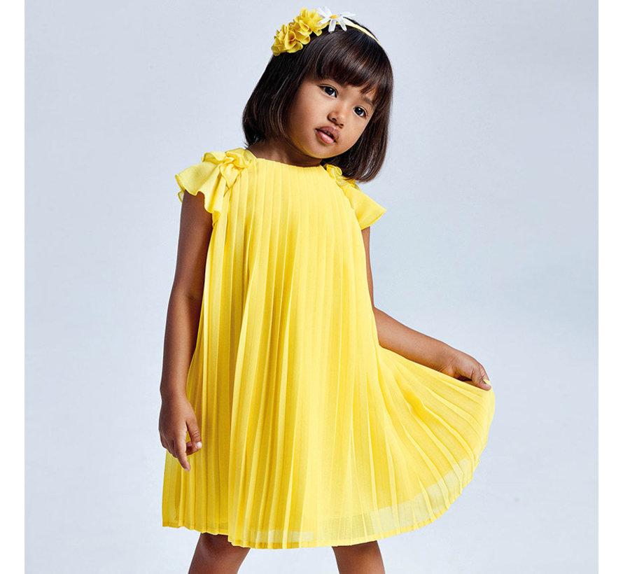 3911 pleated dress