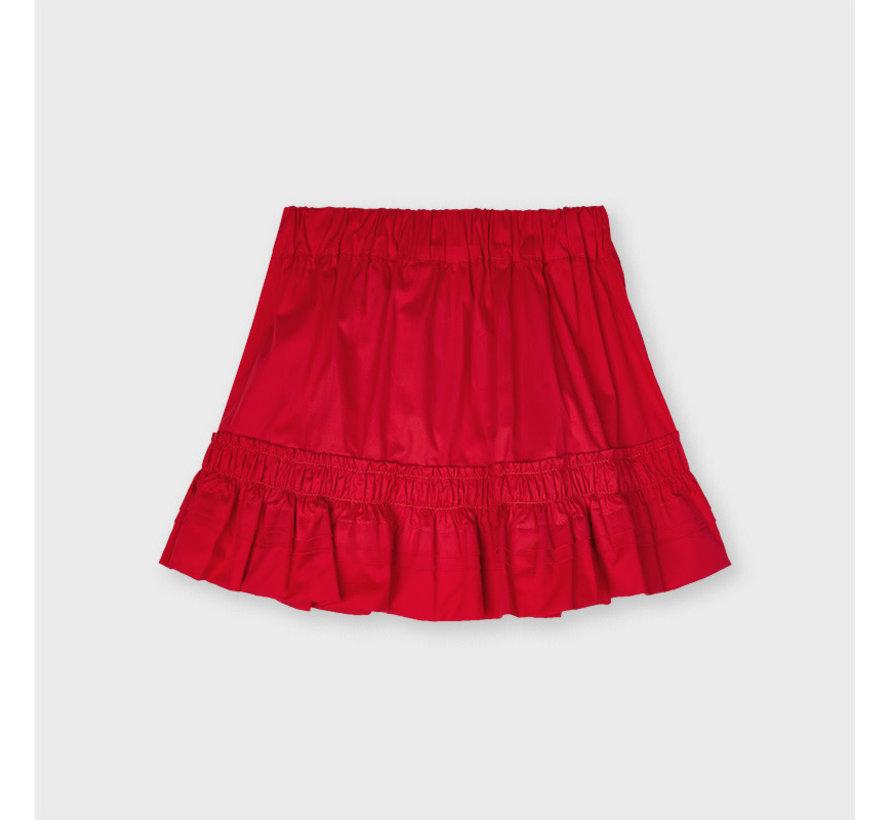 3906 poplin skirt