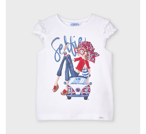Mayoral 3013 s/s doll shirt