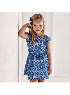 Mayoral 3937 printed dress