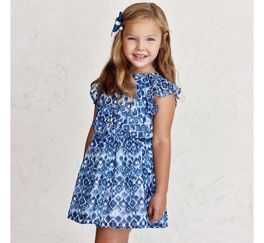 3937 printed dress